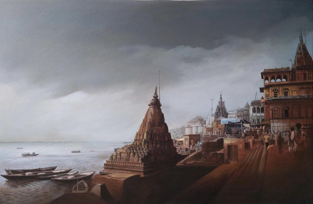 Banaras Ghat 1